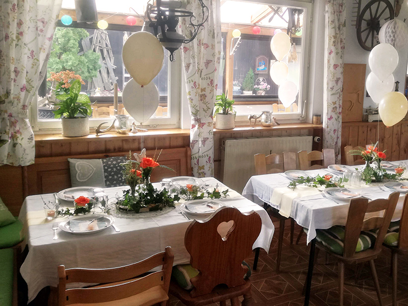 Feste feiern auf dem Schwillehof in Pfullingen